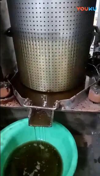 辽宁沈阳保洁公司压榨纤维和铁渣现场