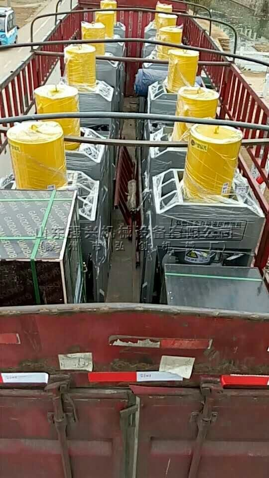 出口越南的12台新型全自动