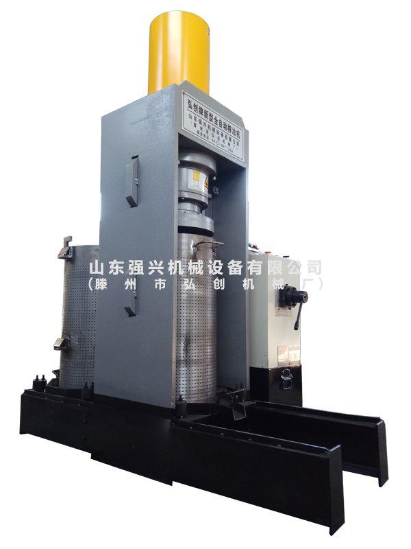 50MPa(250噸)雙桶全自動液壓榨油機