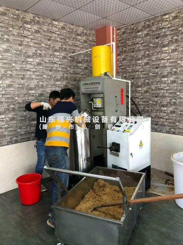 广东惠州客户油坊实拍