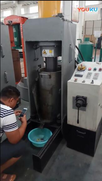 新型液压bob登陆电脑版压榨聚醚油渣实拍