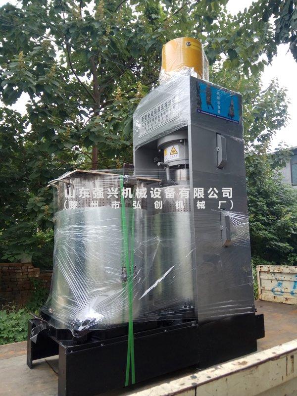 辽宁铁岭客户订购的大豆榨油机全套设备已发出