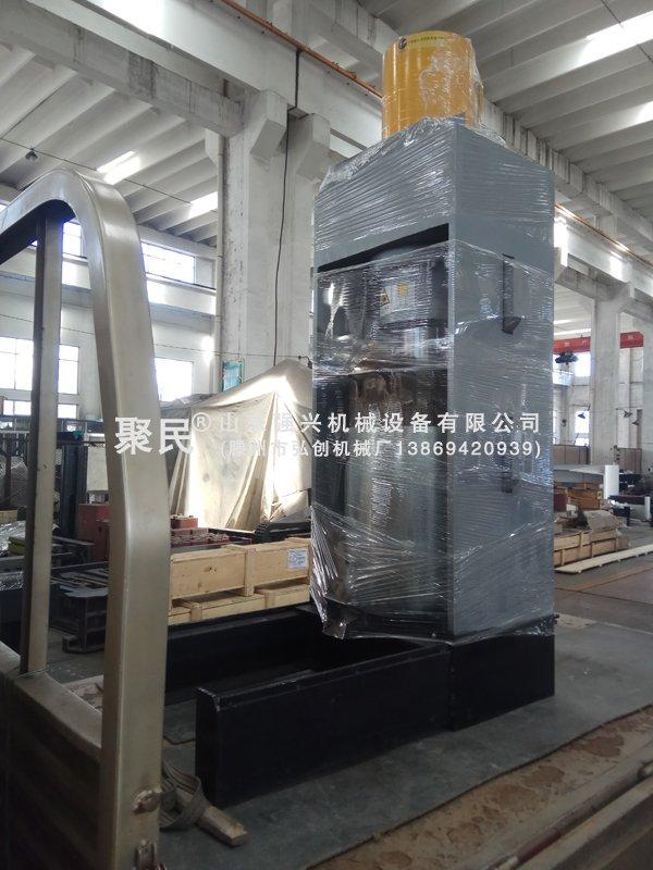 发河南三门峡的新型立式液压榨油机已出厂