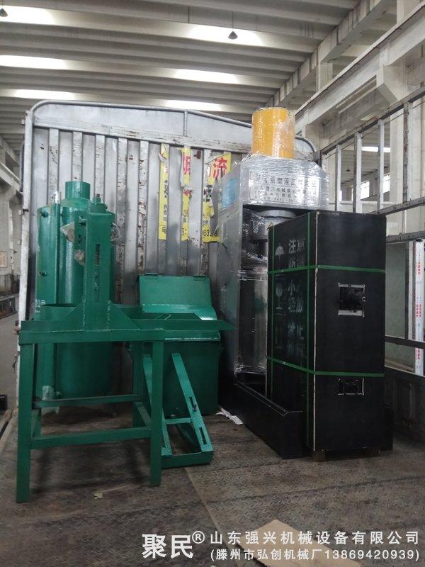 甘肃陇南客户订购的新型菜籽榨油机全套设备已发货