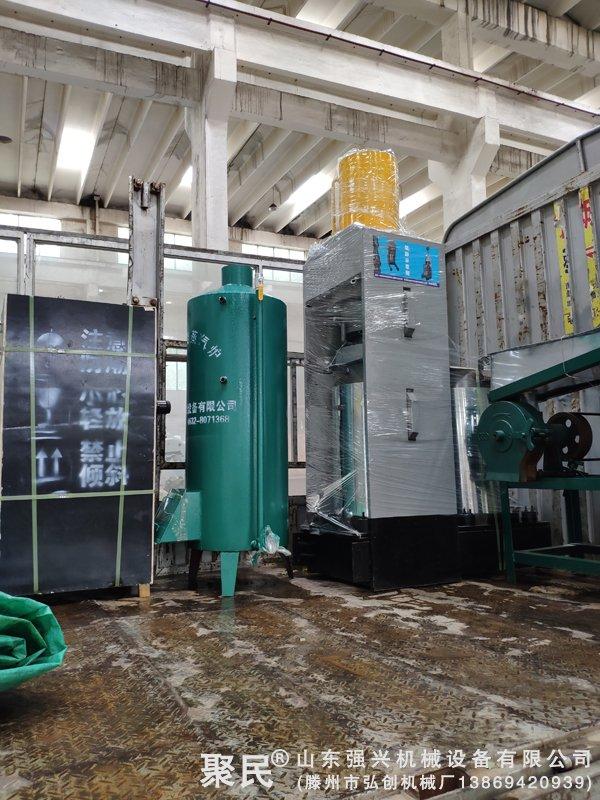 江西省上饶市婺源县订购茶籽榨油设备已发出