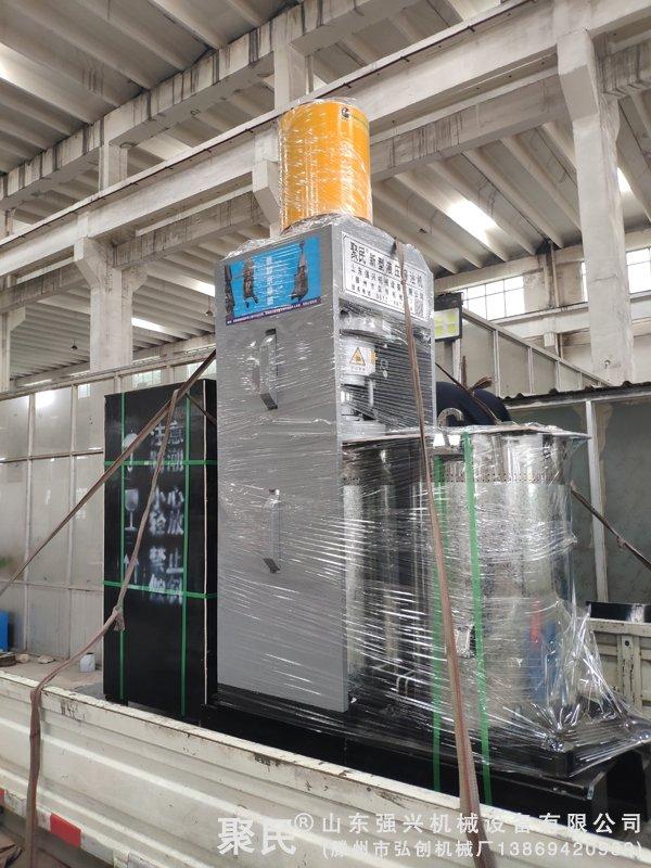 福建福州闽清订购的双桶茶籽液压榨油机已发出
