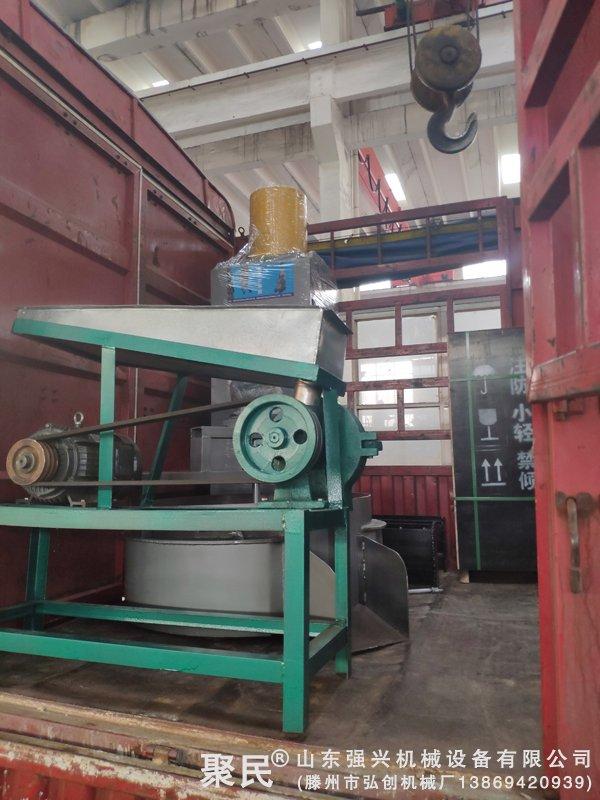 发河南南阳淅川县的花生芝麻榨油机全套设备已发出